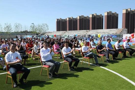 北京景山学校香河分校2019-2020学年度开学典礼隆重举行