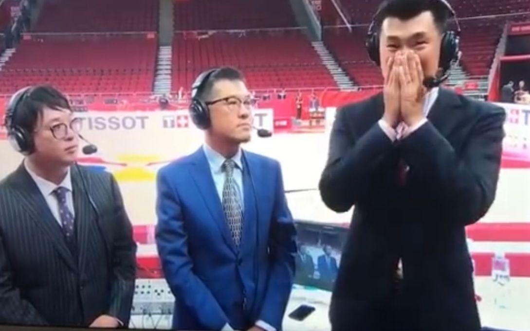 """解说嘉宾王仕鹏赛后落泪,""""希望输球的学费没有白交"""""""