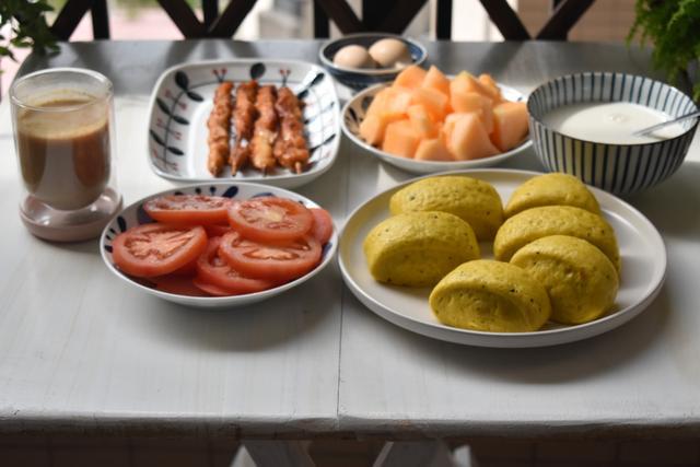 我家的家常早餐,简单却营养足味道赞,家人爱吃,做早餐更有动力