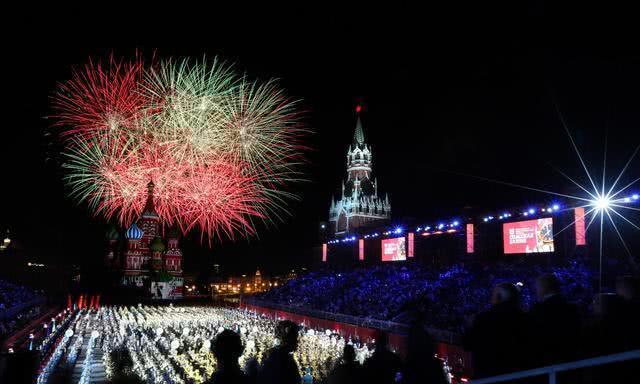 2019年斯潘卡亚塔军事音乐节和红场纹身晚会音乐会
