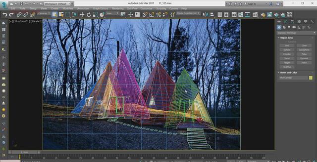 3dmax挑战效果级帐篷?高逼格的照片教程教程夜景非洲花图解图片