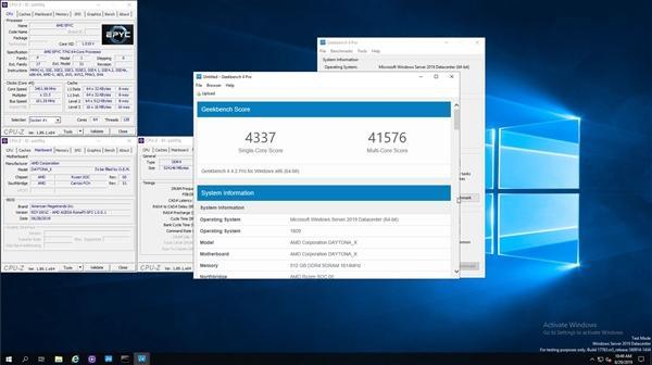 AMD二代霄龙跑分公布:双路256线程蔚为壮观