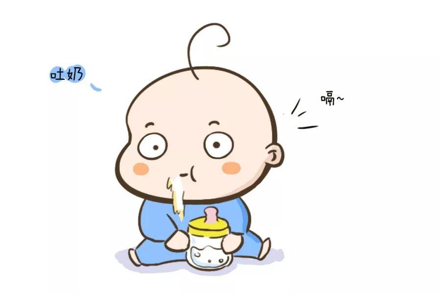 """宝宝为甚么会吐奶,知道个中的""""隐情""""以后,如许的应对才有效!"""