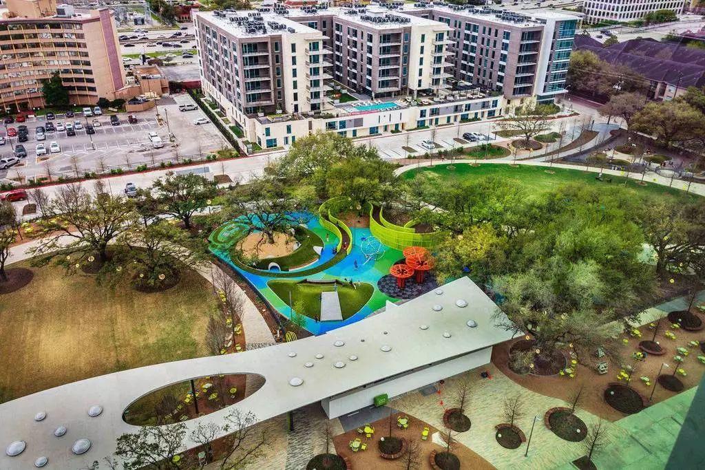 休斯顿最好的城市公园Levy Park