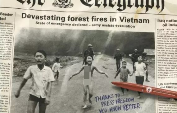 美国抛下的汽油弹,让这个小女孩几乎改变了越战历史