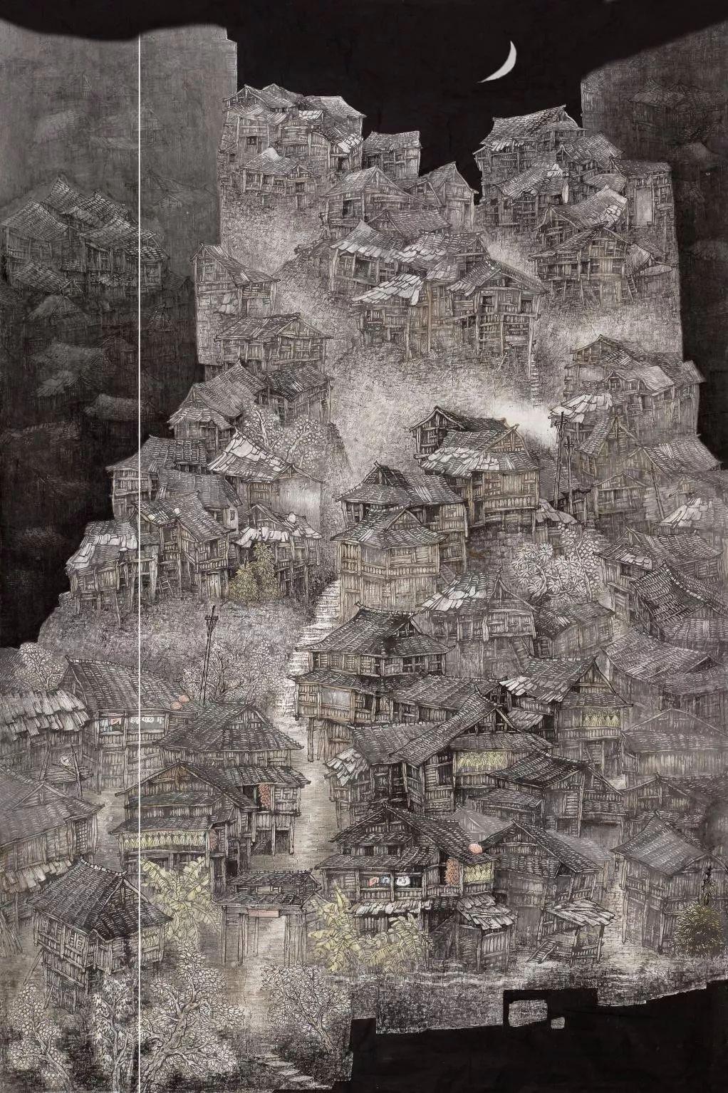 著名画家中国画创干展