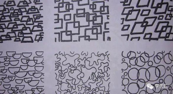 面关系_如何画好线描?儿童黑白装饰画技法,为孩子收藏!_关系
