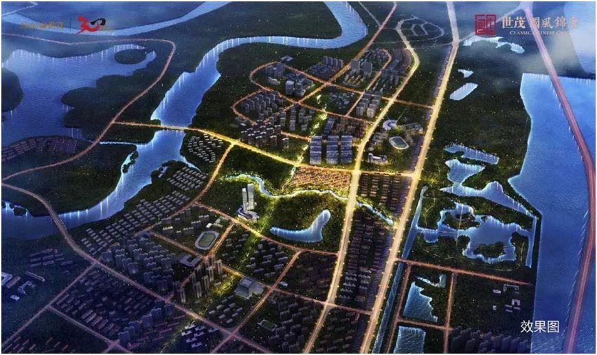 生态城中部片区规划图