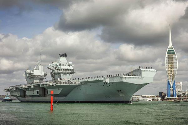 """英國""""伊麗莎白女王""""號航母再次遠洋部署,將開展作戰試驗"""