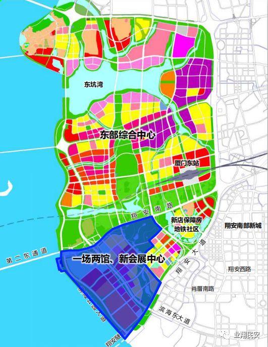 12965亿 大动作连连 刚刚,厦门六区规划全新亮相 同安投资最多