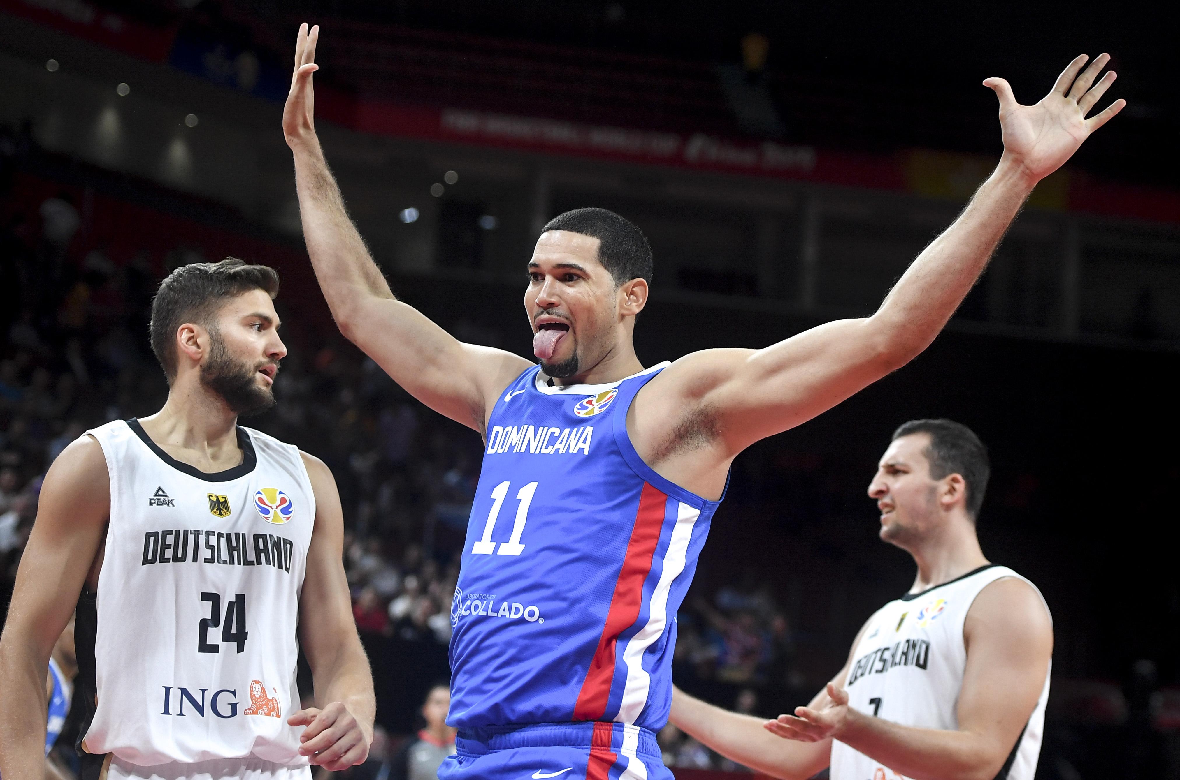 篮球——小组赛:德国队对阵多米尼加队
