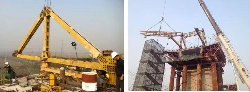 模板支架搭设流程_挂篮悬臂浇筑法施工技术,强烈推荐收藏!_支架