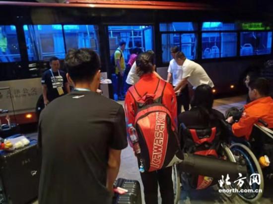 无障碍公交车完成全国第十届残运会暨第七届特奥会保障任务