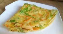 营养早餐——杂蔬蛋饼