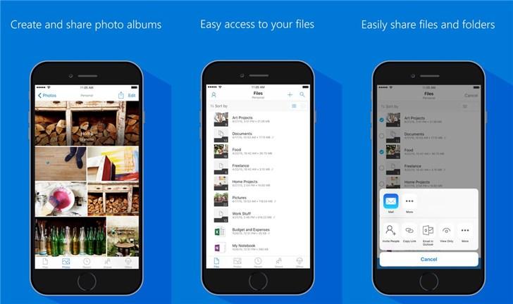 微软OneDriveiOS测试新版:全新黑暗模式,支持iPad多窗口