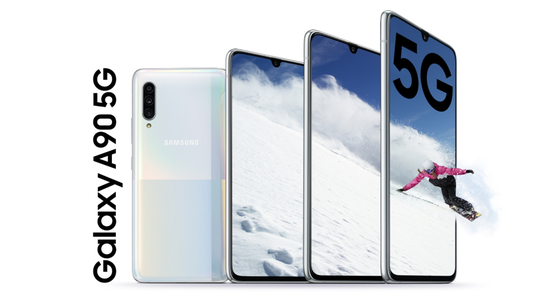 5G手机九月第一周汇总:三星A90将首先在韩国销售