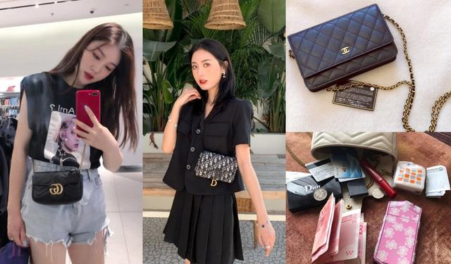 迷你包包减龄又能帮你装可爱,香奈儿、DIOR、LV哪款最好看