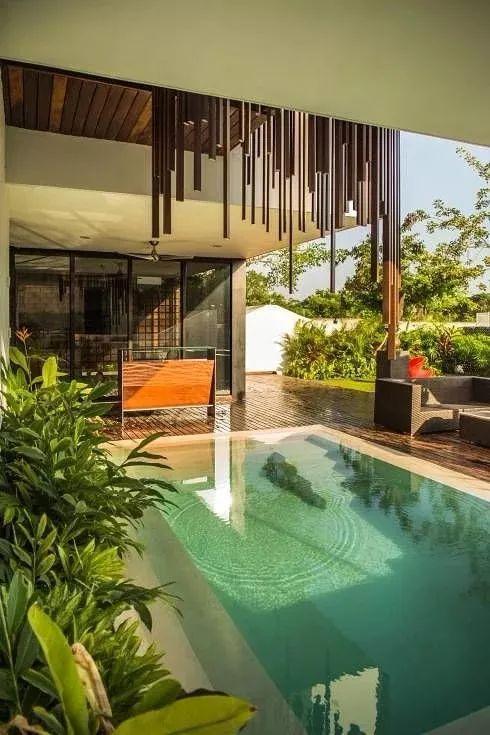 60平米庭院设计效果图图片
