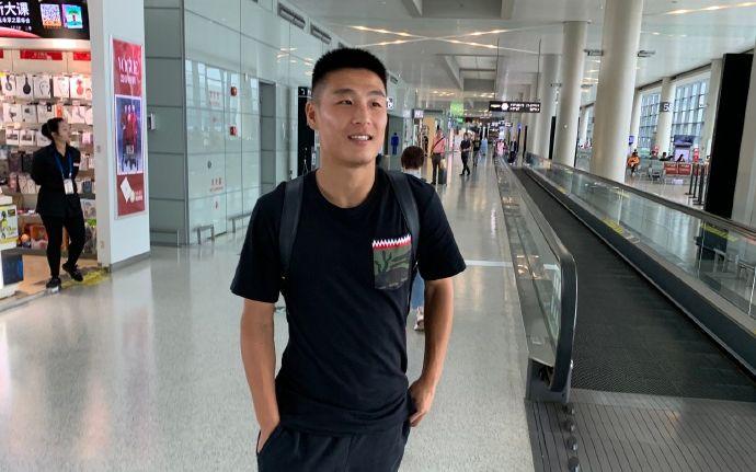 武磊與國足會合,將參加球隊訓練課