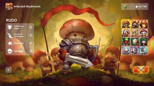 《蘑菇大战2》游戏评测:总共100关的防御游戏简单易于操作