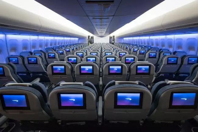 飛機上經濟艙,頭等艙,商務艙有什么區別?圖片