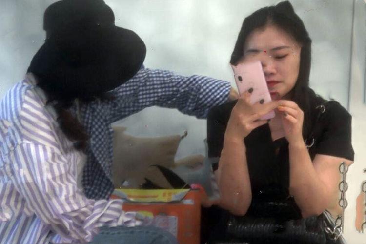 叶祖新陪张佳宁到医院做产检?女方否认:刚进组拍戏,还在工作