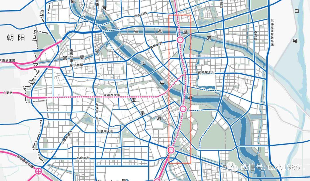 """1公里投10.75亿!通州这16公里将改""""地下隧道"""",涉征地拆迁…"""
