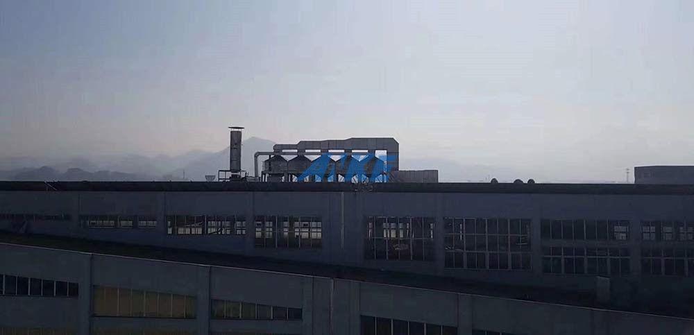安可環保--永康某集團門業涂裝廢氣處理解決方案