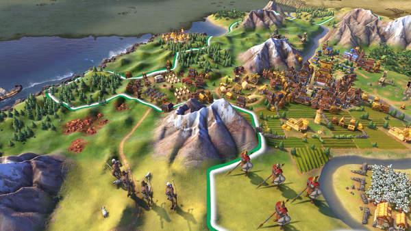 《文明6》9月6日更新介绍增6张地图,IOS版DLC可用