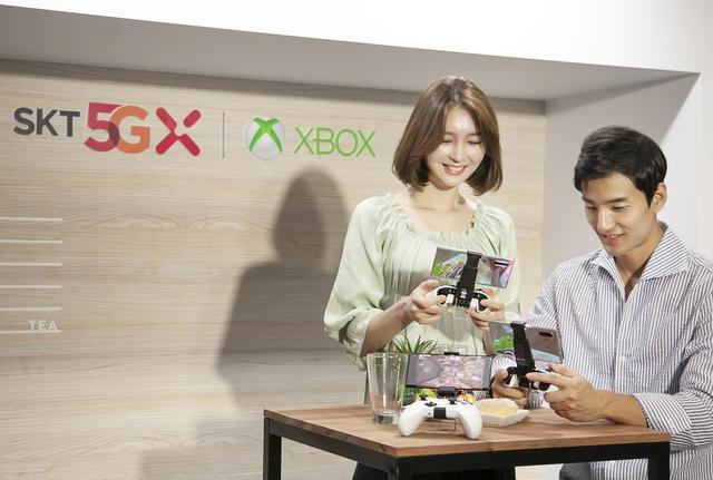手机端玩XB游戏SK电讯携手微软推出5G云游戏平台