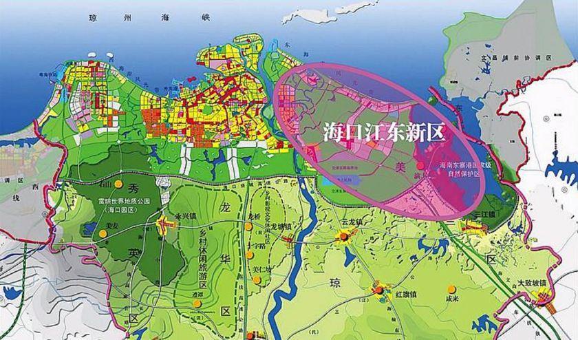 三亚自贸区规划图