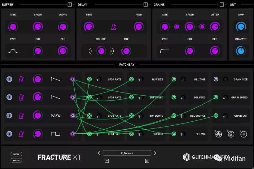 <b>Fracture XT 粒子缓冲效果器更新,包含可缩放用户界面</b>