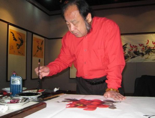 继古法创新吾一生追求——记中国诗人、画家、书法家于少杰与曹保民大师之缘
