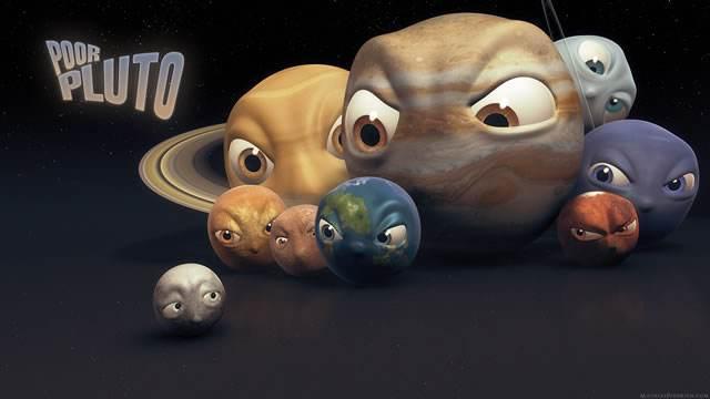 被踢出九大行星的冥王星到底有多可怕?_质量