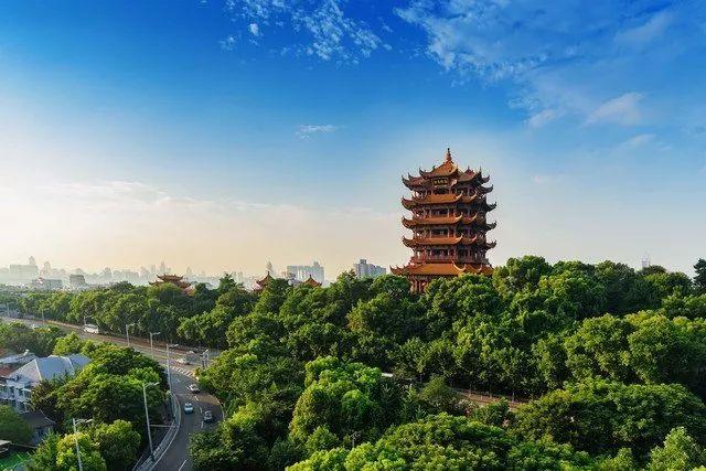 旅游 | 一年四季赏花游山,这些地方的山脊是武汉的最美天际线
