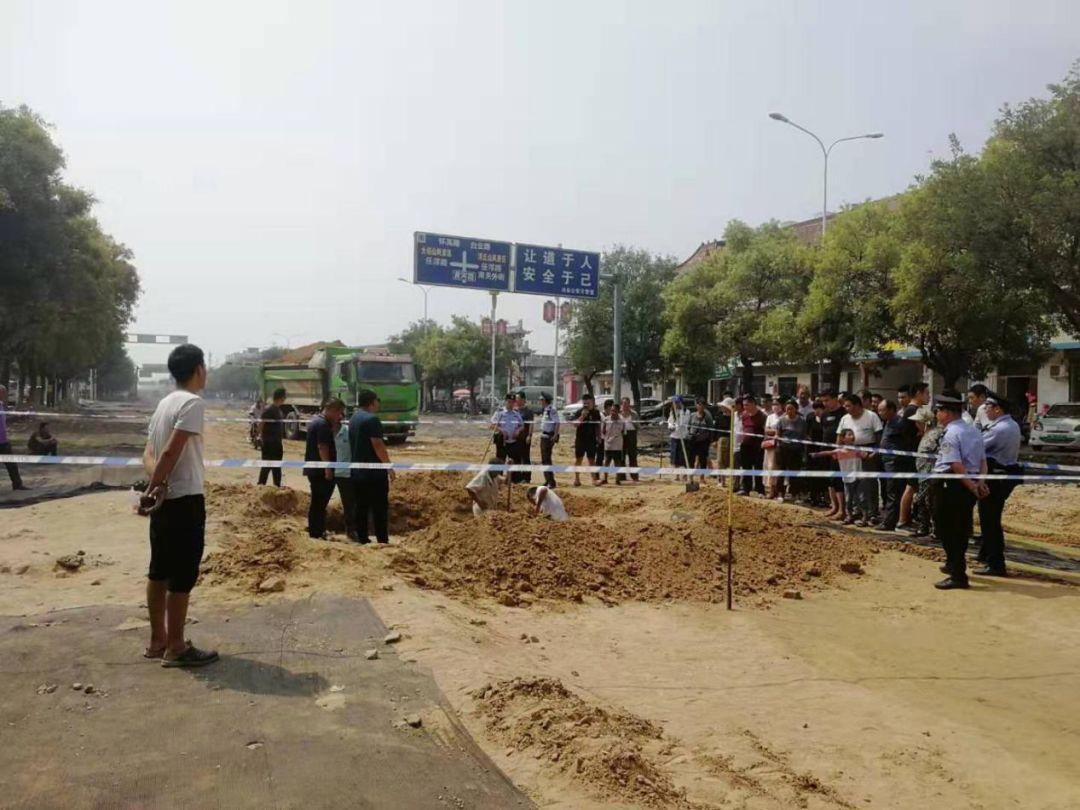 浚县黄河路发现一处疑似民国时期墓葬