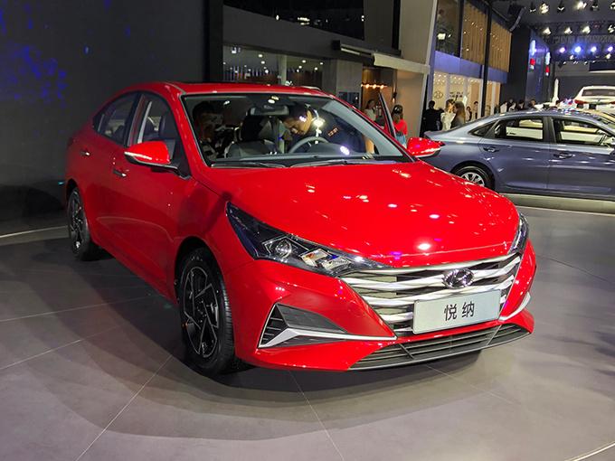 北京现代新一代悦纳正式发布 造型更运动车身大幅加长
