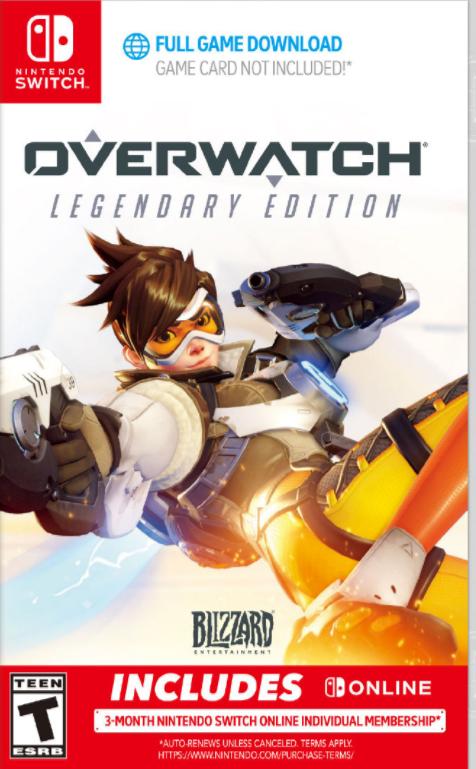 《守望先锋》10月登陆堂Switch!支持体感操作预购价约为280元