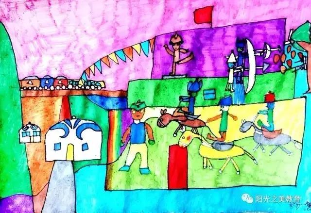 浅谈儿童画教学与素描教学的衔接