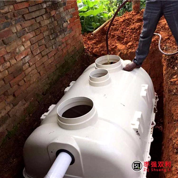 农村改厕化粪池什么样的好用?