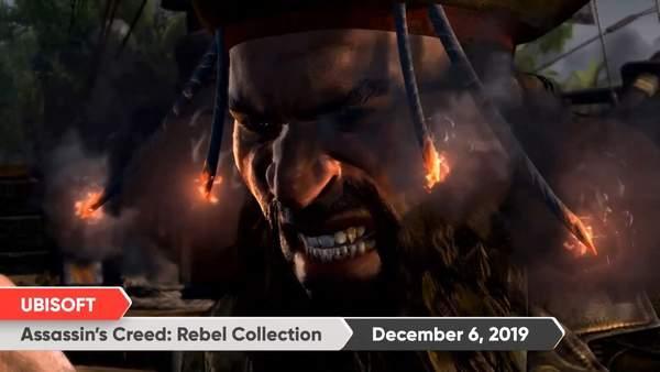 NS版《刺客信条:黑旗/叛变》全新预告12月6日发售