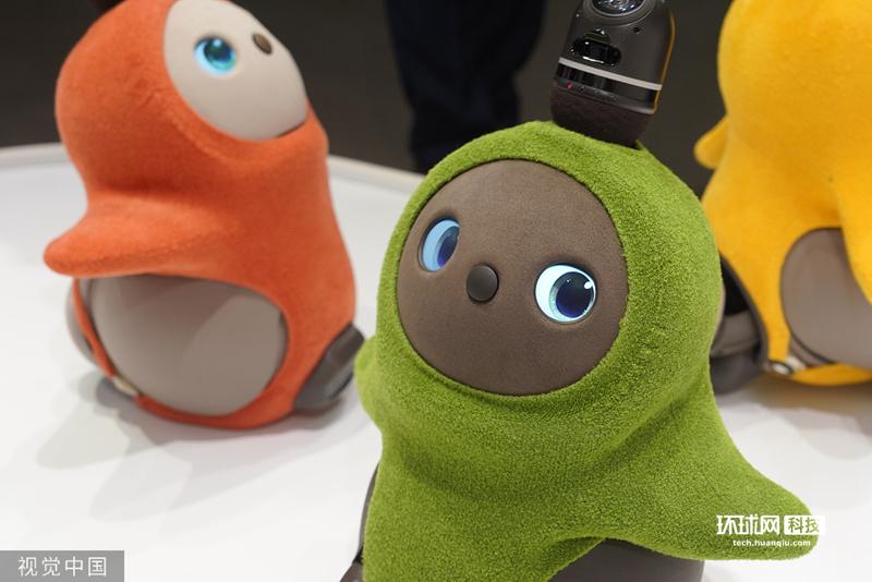 日本创业公司推出治愈型机器人像天线宝宝萌化人心