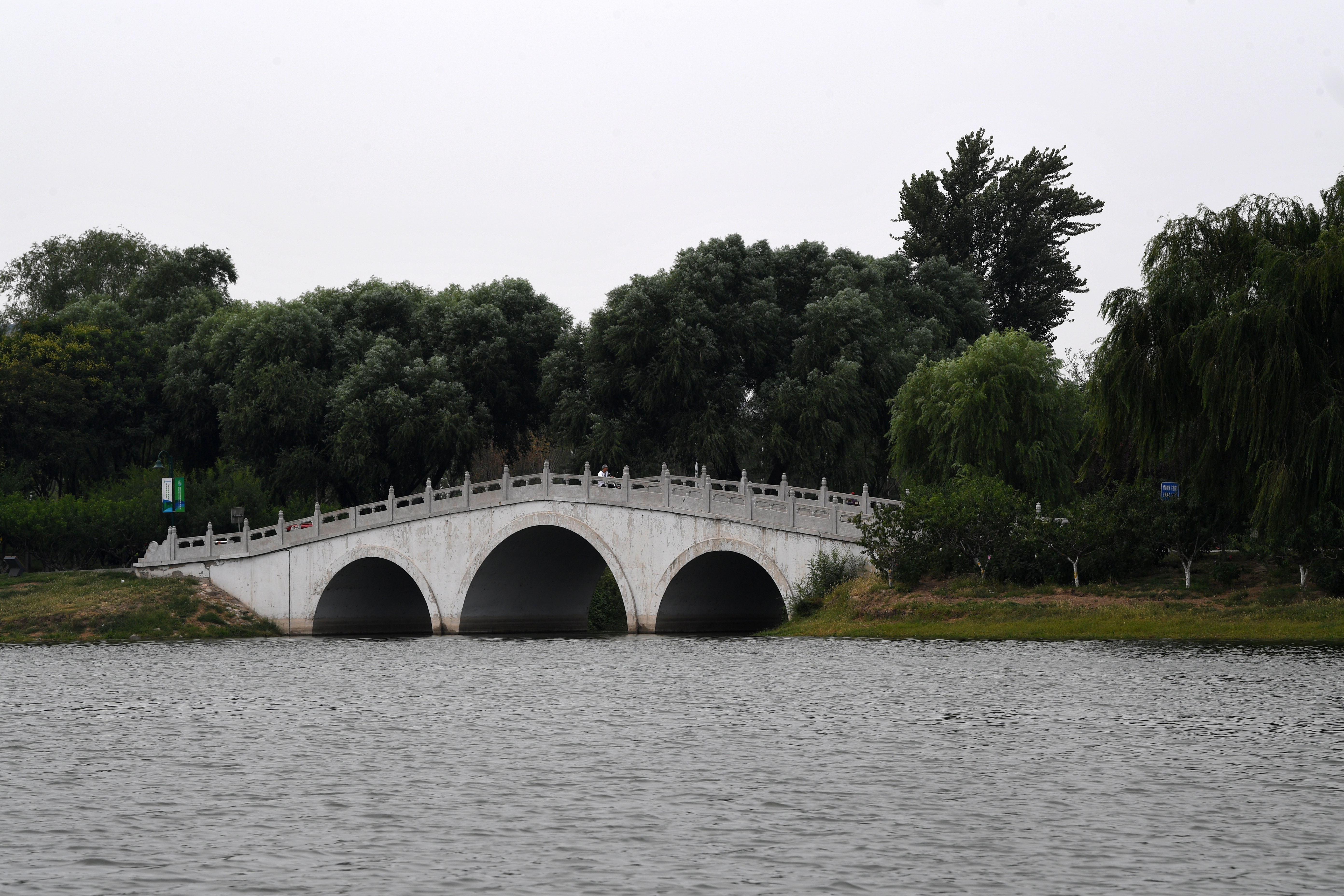 京杭大运河通州段掠影