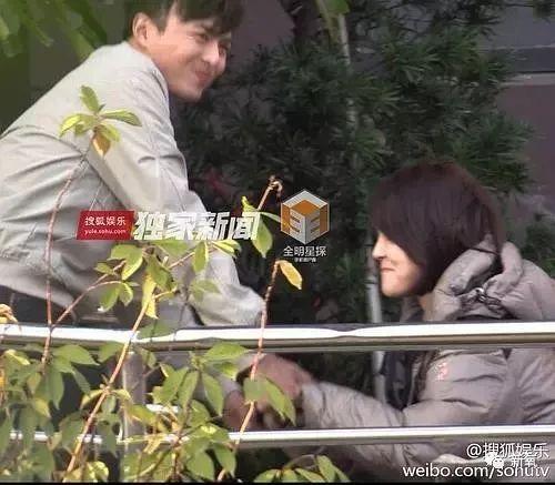 蒋欣前男友恋上赵丽颖姐姐 亲热忘拉窗帘还被拍到去做产检
