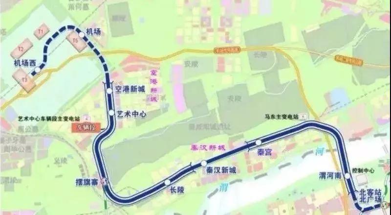 济南地铁规划图2019-2024