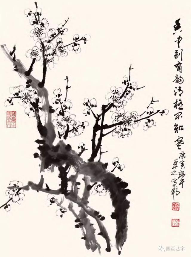 名家王绍华写意牡丹_名家画梅花图片展示_名家画梅花相关图片下载