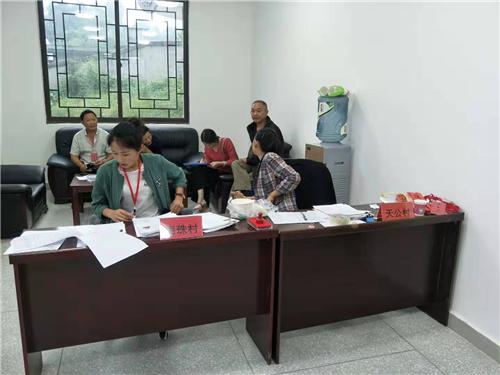 四川省多悦镇组织开展残疾人换证工作