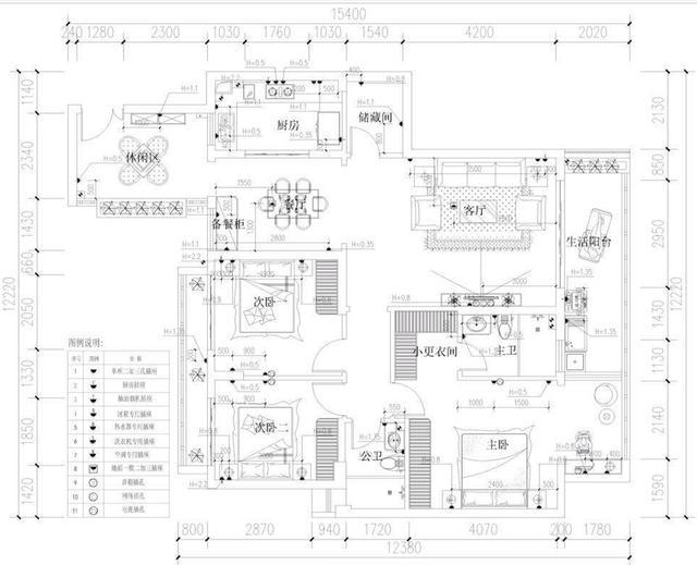 146平3室2厅,美式装修花30万,入住半年给大家晒晒