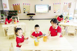 天津河西两所新建幼儿园开园 教育版图扩大