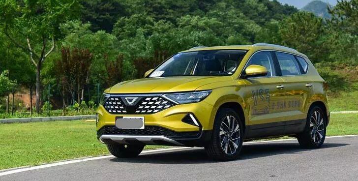 捷达品牌首款紧凑SUV捷达VS5上市,还是满满大众味道高清图片